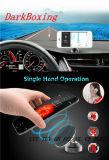 Cargador sin hilos del mini del teléfono móvil de Qi sostenedor portable del coche con el adaptador dual del USB