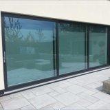 Lift-Sliding Porte aluminium de haute qualité avec le verre trempé