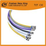 De Coaxiale Kabel van de Fabriek van China Rg59 met F-Schakelaar voor Systeem CCTV/CATV