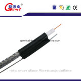 Медь провела ре изолированный RG59 RG6 Coxial кабель