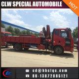 Camion della gru dell'articolazione montato camion del camion della Cina FAW 5-10ton