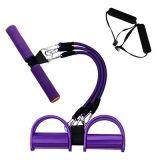 Tubo portatile di raduno del pedale di esercitazione di forma fisica di uso domestico variopinto