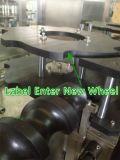 La CDD della bottiglia rotonda beve la macchina di contrassegno calda dell'autoadesivo della colla OPP