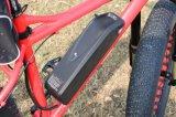 Зеленый индикатор питания 1000W 1500W снег жир Downtube Ebike электрический велосипед с аккумуляторной батареи