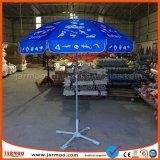 Открытый корпус патио квадратных зонтик с пользовательскими печать