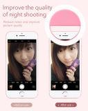 Luz portable del anillo de Selfie para todo el teléfono móvil bueno
