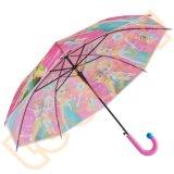 ピンクカラー安い幼い子供はPoeか透過傘を取り除く