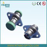 Sm FC/PCの正方形のファイバーの光ケーブルの固形物の金属のアダプター