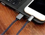 엉킴 자유로운 보편적인 청바지 작풍 전화 충전기 케이블