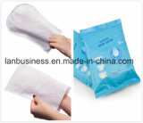 Смоченной промойте влажных салфеток пациента вещевого ящика