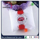 Новый стиль кварцевые часы с экологической силиконовый ремешок (DC-1030)