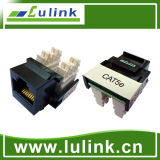 CAT6 UTP RJ45 тип Keystone Jack Tooless 90 градусов складывая