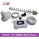 Spanningsverhoger van het Signaal van DCS 1800MHz van Atnj de Mobiele met Antenne Yagi + LCD Vertoning