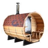 Im Freiendampf-Sauna-Raum-Zylinder-Sauna 20 Jahre Fabrik-