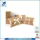 Kundenspezifischer verpackender faltbares Packpapier-Kissen-Papierkasten