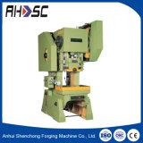 J23 Máquina de perfuração Manual da Série 10 Ton Punch Pressione a máquina