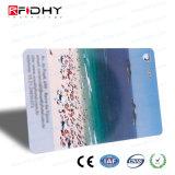 Cr80 cartão que pode escrever-se da lealdade do PVC do tamanho padrão RFID