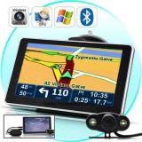 """Дешевые 4.3"""" Портативная система навигации GPS с 128 МБ памяти DDR 4 Гбайт, FM, Bt, Tmc, ISDB-T телевидение, карты GPS навигации GPS G-4306"""