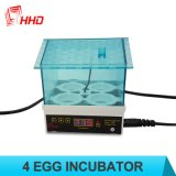 Automatischer Minihuhn-Ei-Inkubator für das Cer des Verkaufs-Yz9-4 genehmigt