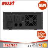 600W 800W 1000W 24V Niederfrequenzenergien-Inverter mit 10A 15A Wechselstrom-Aufladeeinheit