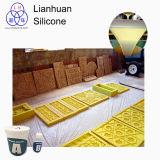Materiales del molde del caucho de silicón RTV-2 usados para reproducir el detalle fino