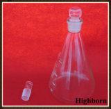 Pallone conico libero di vetro di Borosilicate del laboratorio
