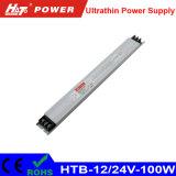 alimentazione elettrica di commutazione del driver dell'alimentazione elettrica di 12V/24V 100W LED LED