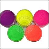 Il neon fluorescente colora il pigmento per il polacco di chiodo