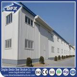 Строения подъема низкой стоимости пакгауз стальной структуры высокого быстро полуфабрикат с Corrugated стальной плитой