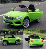 La batería blanca de Recargeable del color embroma el coche eléctrico del juguete