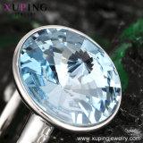 14115 Form-Charme-Hochzeits-Ring mit Kristallen von den Swarovski Schmucksachen