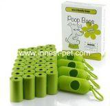 Zak van het Afval van het Achterschip van de Hond van de Druk van de Poot van het huisdier de bijkomende Groene