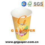 D'impression personnalisé 20 oz jetable à paroi simple Hot Cold boire la coupe du papier