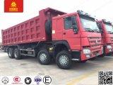 HOWO 8X4 371HP Hochleistungskipper-Lastkraftwagen mit Kippvorrichtung