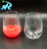 15oz bon marché de boire du vin en verre plastique, verre de bière