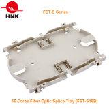16 núcleos na bandeja de emenda de fibra óptica (FST-S)