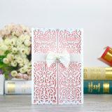 La invitación de encargo carda la impresión de las tarjetas de felicitación de la tarjeta de papel