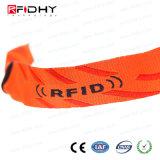 Tessuto di pagamento di Cashless e Wristband tessuto di RFID per gli eventi