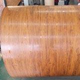PPGI Imitaton DX51d'acier de toiture en bois