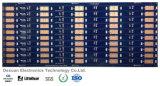 PWB de la tarjeta de circuitos impresos del oro de la inmersión de la alta calidad con la máscara azul de la soldadura