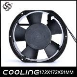 Unidad de motor EC 2650/2950rpm 17251 AC bastidor de metal de inversión del ventilador El ventilador 120mm 240V AC Ventilador fino 172x172x51