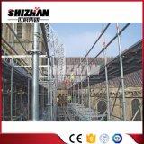Andamio ligero del marco principal del metal usado en la construcción