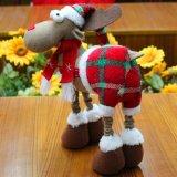 2017 vulde de Pluche de Kerstman het Stuk speelgoed van de Decoratie van Kerstmis