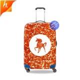 保護低下の出荷のユニコーンの印刷のスーツケースは荷物カバーを反スクラッチする