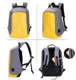 La mode Custom nouveau concepteur en nylon imperméable unisexe sac à dos pour ordinateur portable