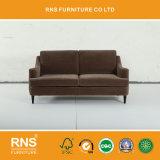 Sofà popolare A110 del tessuto di legno solido di stile di 2017 Euopean