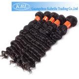 Soft Batural Dyeable Tissage de cheveux humains directement les marchandises