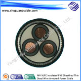 (BPFFP) Fio de F46/Cu protegido/Convertible da alta temperatura/freqüência/cabo distribuidor de corrente de Elctric