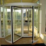 Asas automáticas da porta revolvendo 3 ou porta giratória de 4 asas
