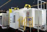 Travando o tipo de corrente de cilindro de GPL Máquina de pintura a pó